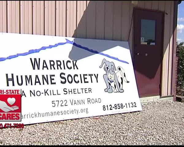 Warrick Humane Society to Take in Dogs Displaced by Harvey_38952788