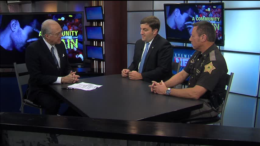 Nick Hermann and Sheriff Dave Wedding Talk Opioid Crisis
