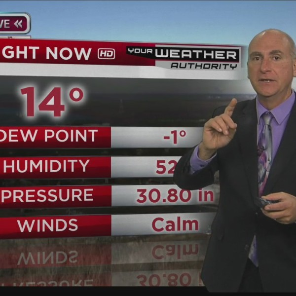 Ron's Forecast for Wednesday, December 27