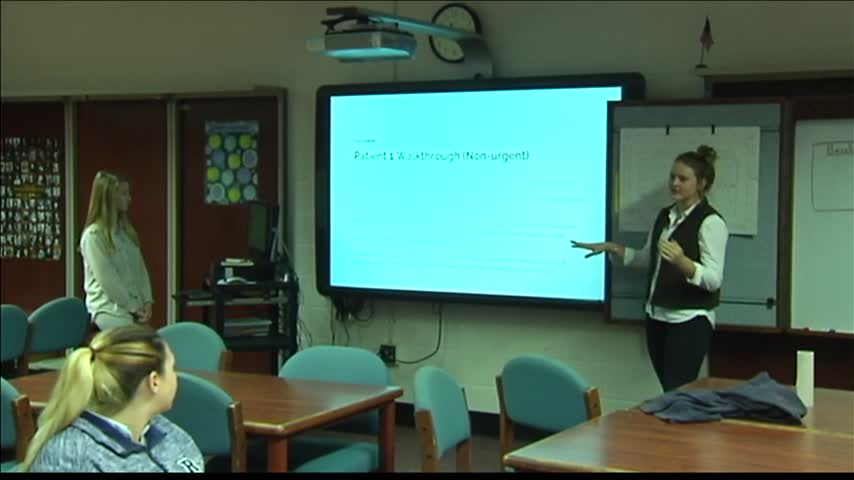 Students Develop Emergency Department