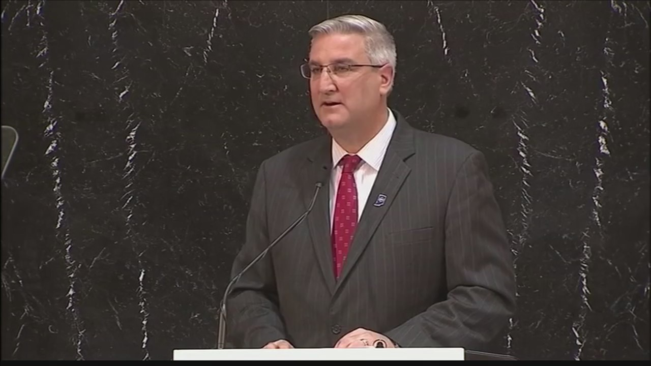 Gov. Eric Holcomb Delivers State of the State Address