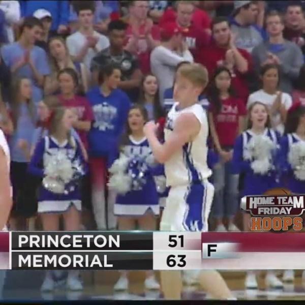 Memorial tops Princeton at home