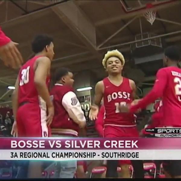 Bosse wins the 3A Regional Championship