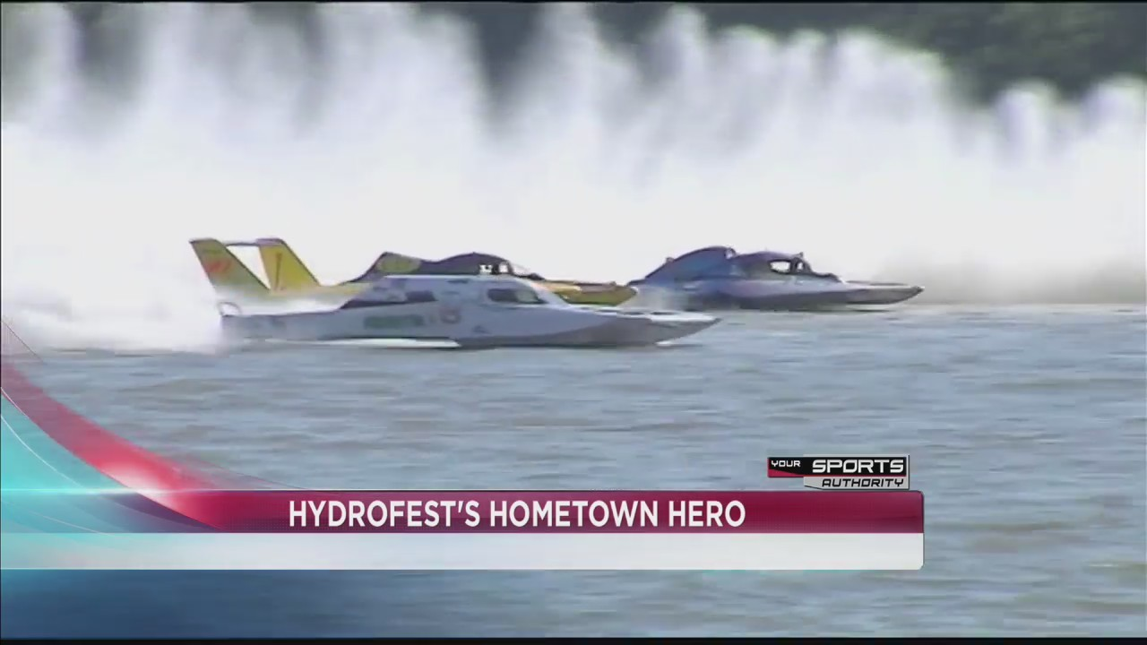 Local hydroplane driver excited for first Hydrofest