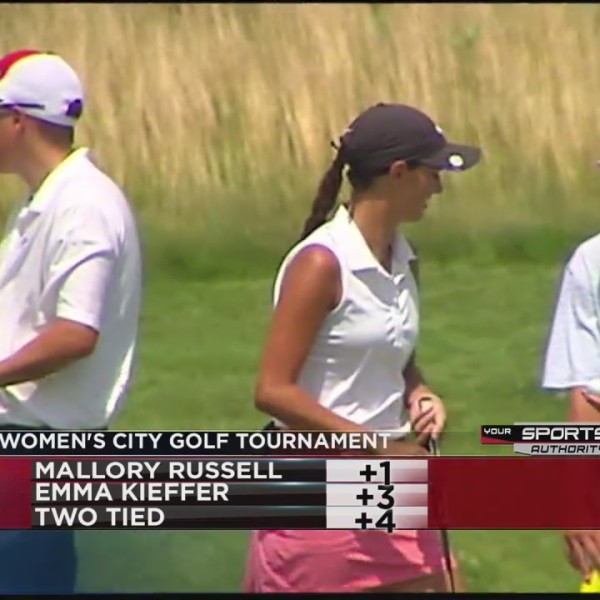Mallory Russell wins Women's City Golf Tournament
