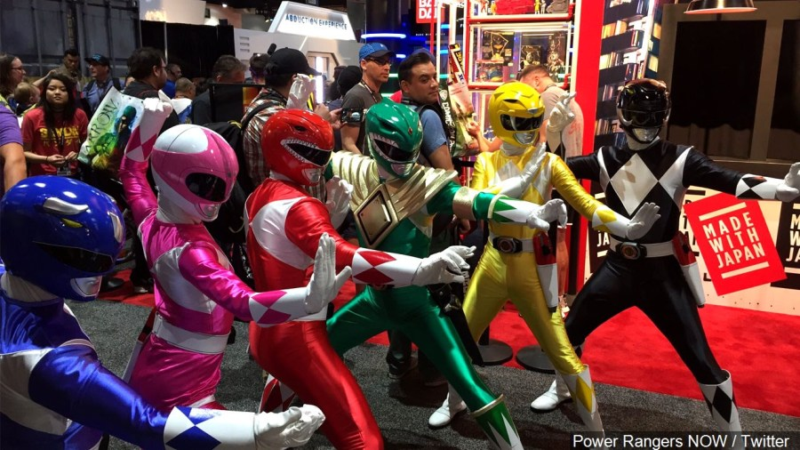 Original 'Mighty Morphin' Power Rangers' debuted 25 years ago today
