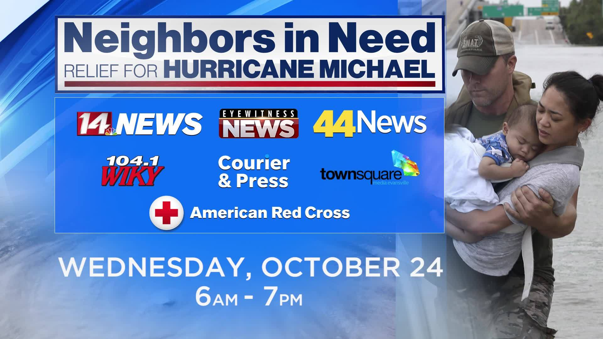 Neighbors in Need: Relief for Hurricane Michael
