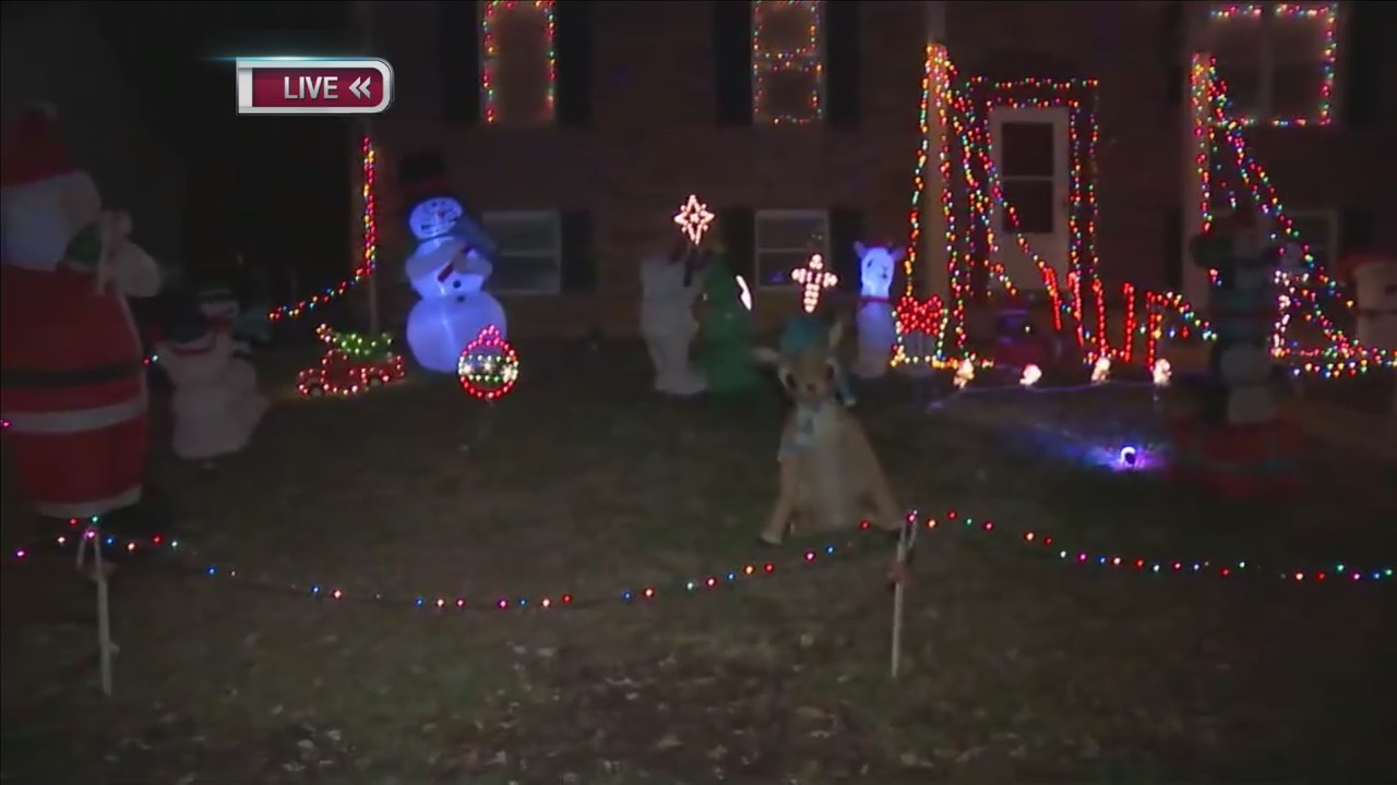 Joe's Jingle Bell Light Show Evansville