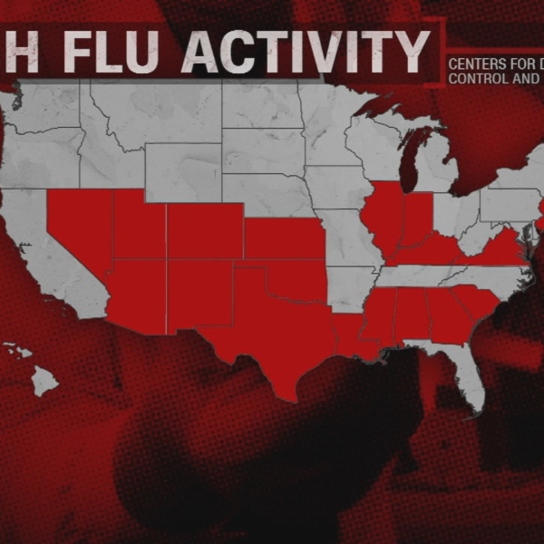 CDC: Flu activity widespread in Indiana