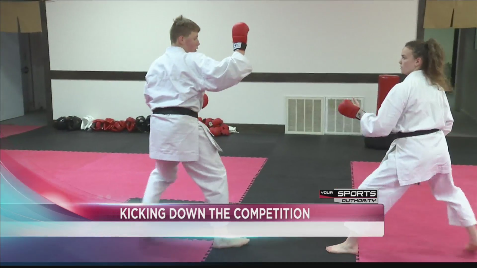 Budo traditional karate kicks past the competition