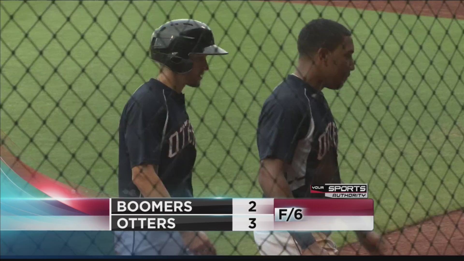 Otters tab series win over Boomers in shortened contest