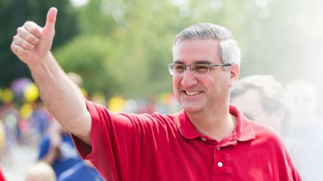 Governor Eric Holcomb making campaign stops across Indiana
