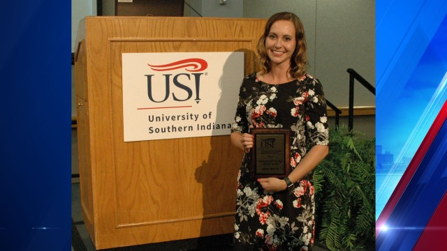 Vanderburgh Health Dept. nurse receives USI Nursing Alumni Award
