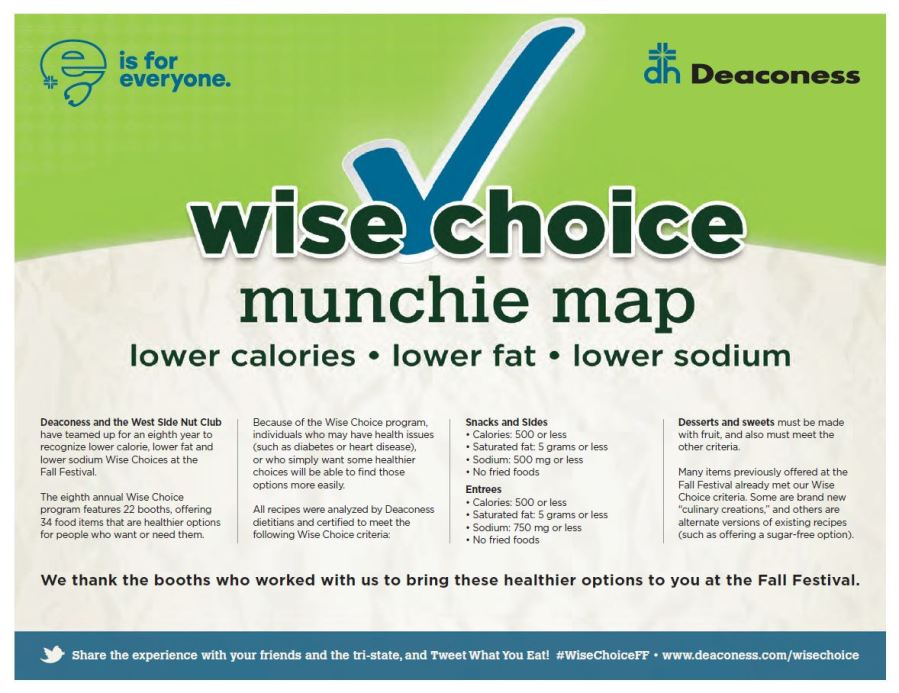 2019 \'Wise Choice\' map released for Fall Festival ...