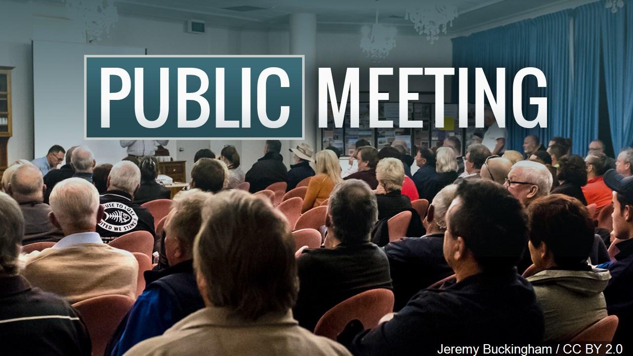 public meeting