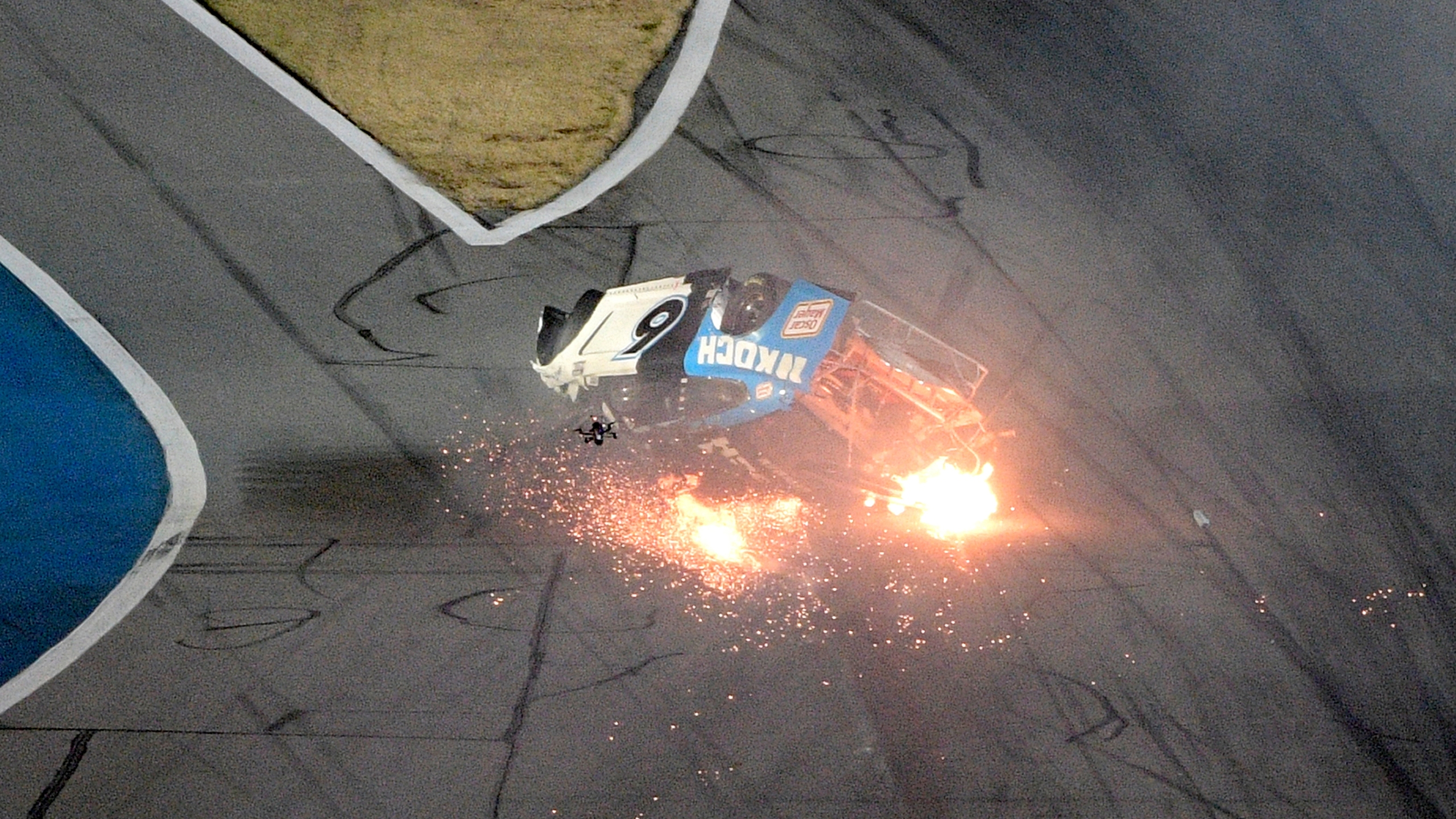 Ryan Newman crash