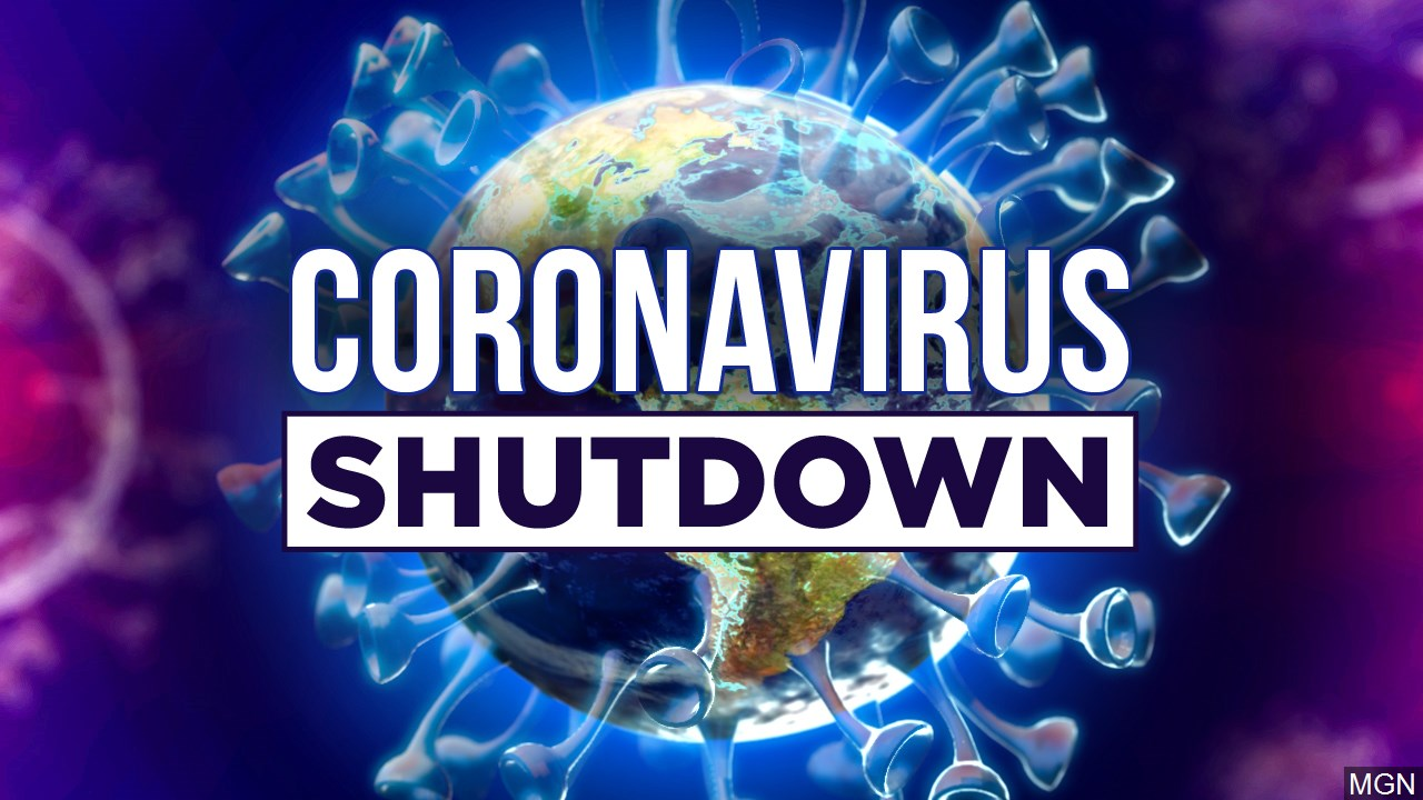 Coronavirus COVID-19 shutdown