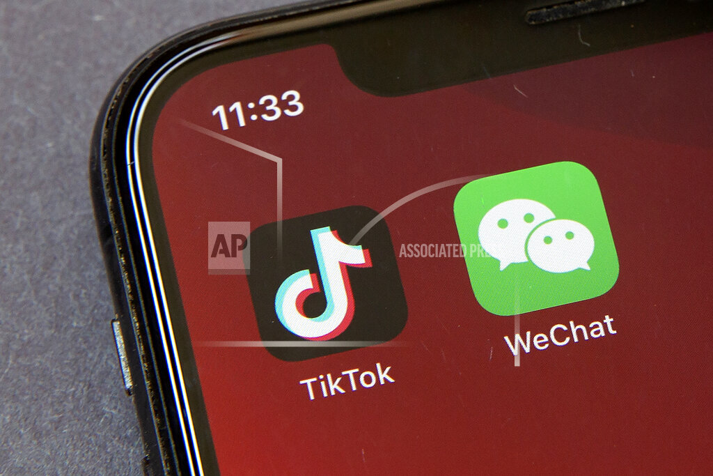 WeChat TikTok Banned
