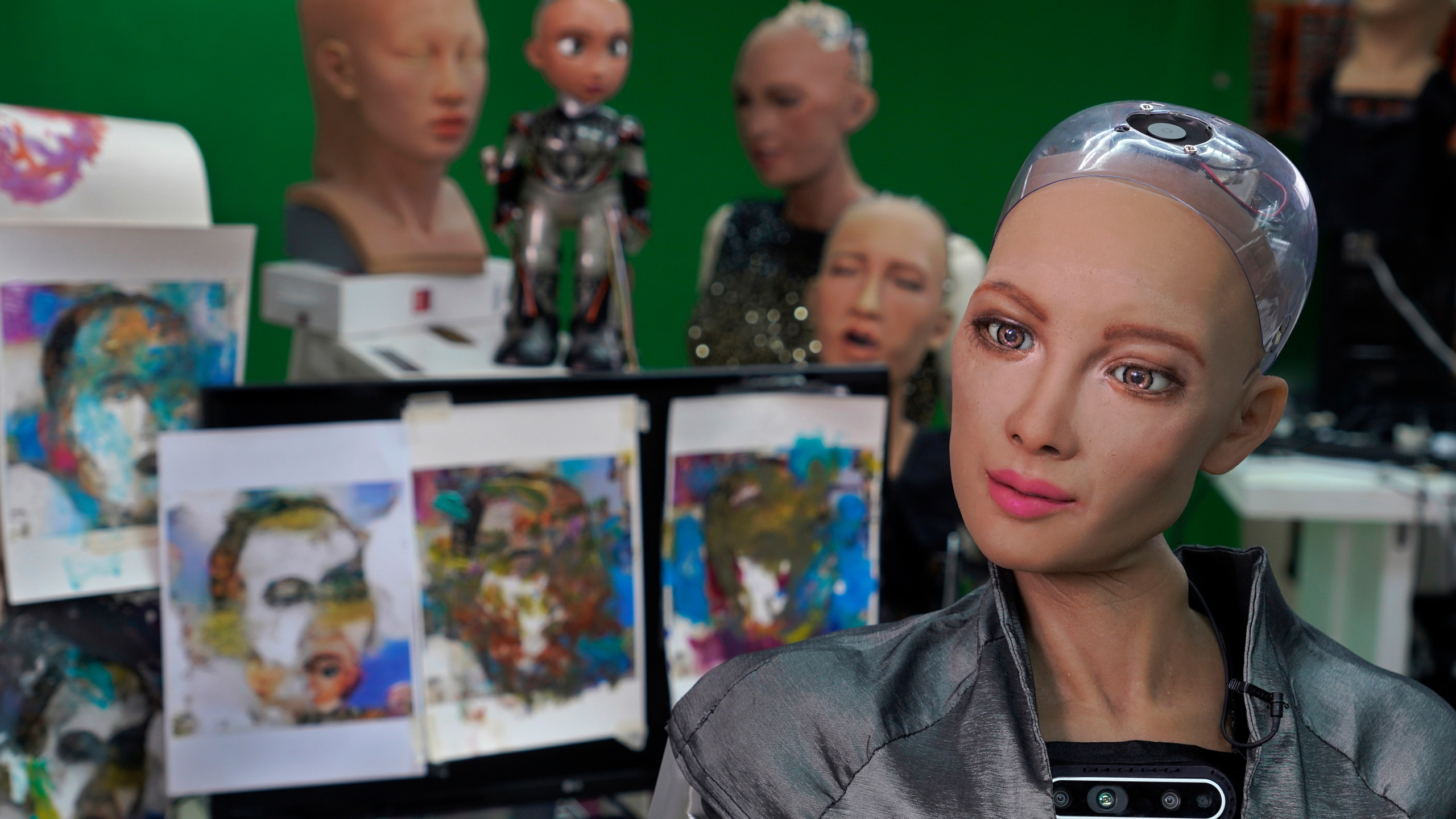 Hong Kong Sophia the Robot Artist