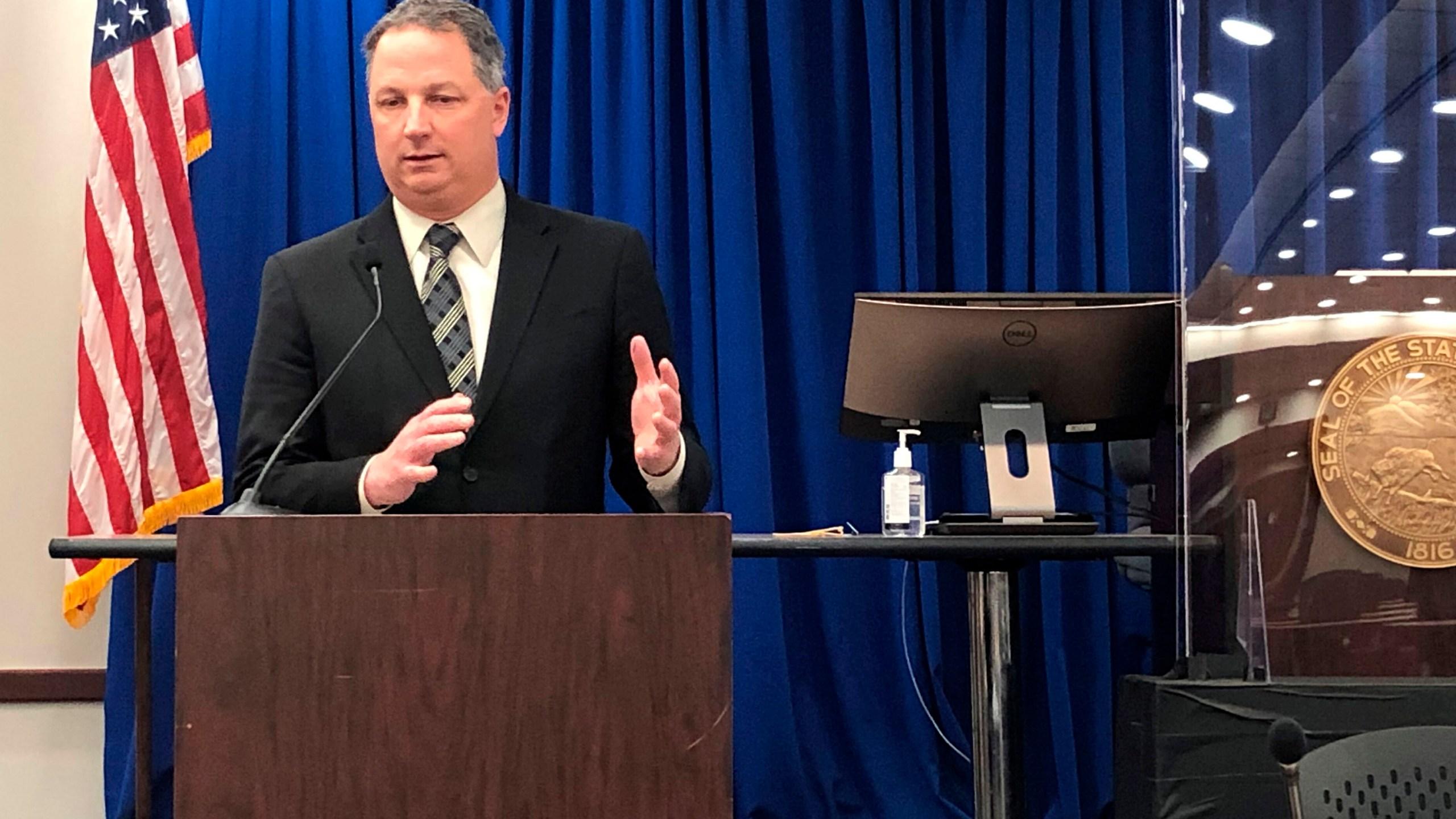 Indiana House Speaker Todd Huston