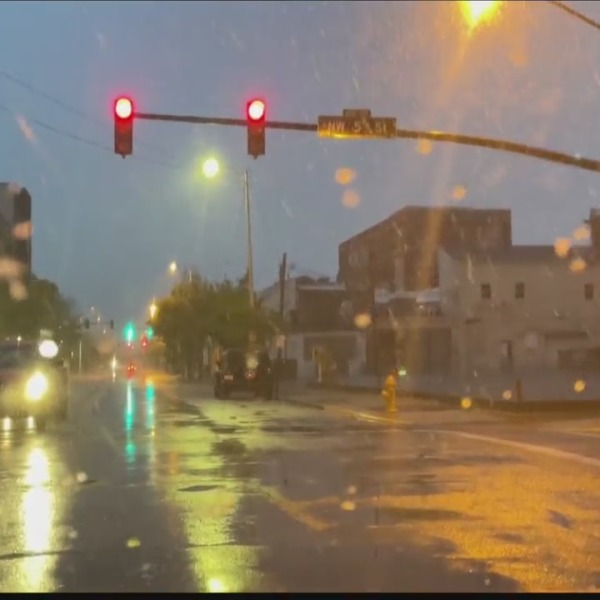 April snow storm in Evansville area