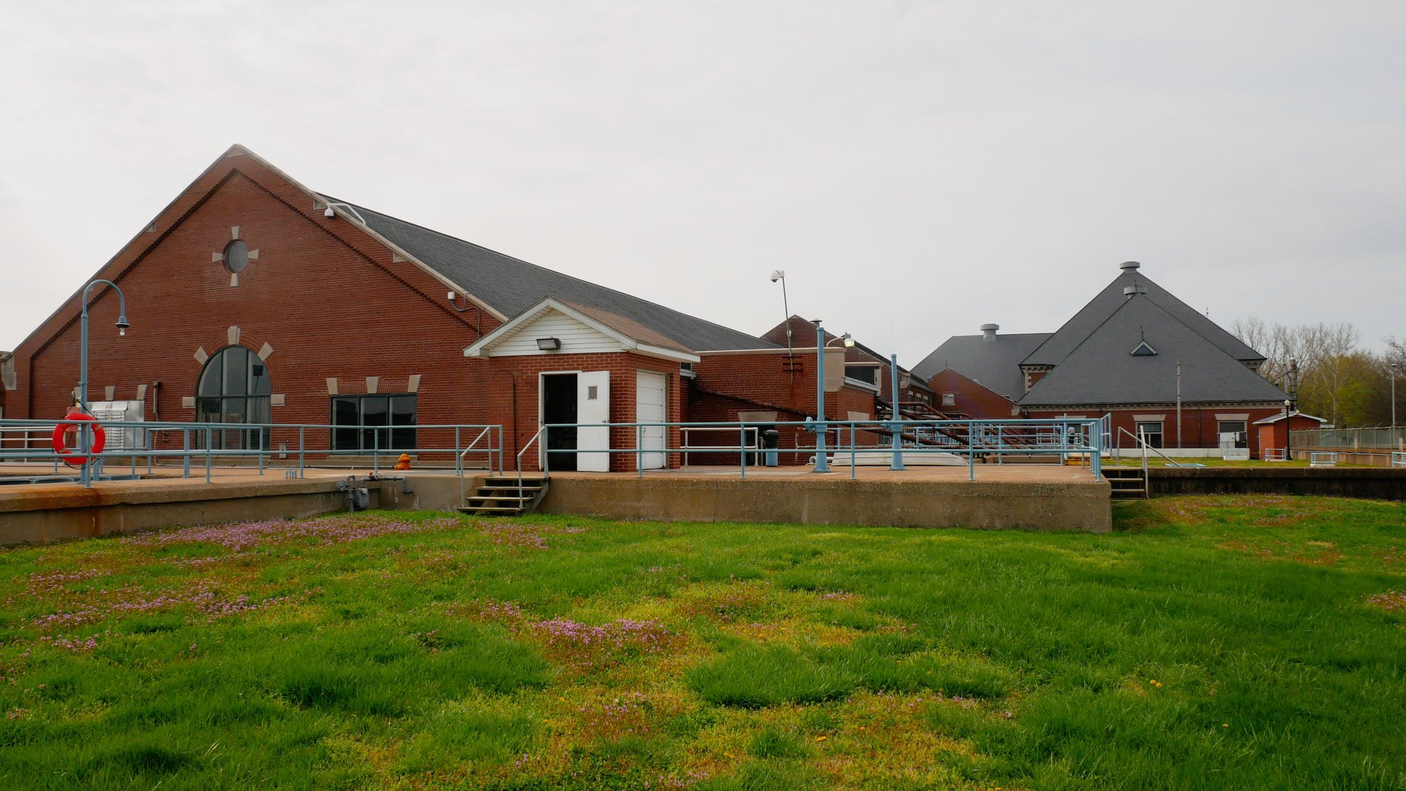 Current water treatment plant in Evansville