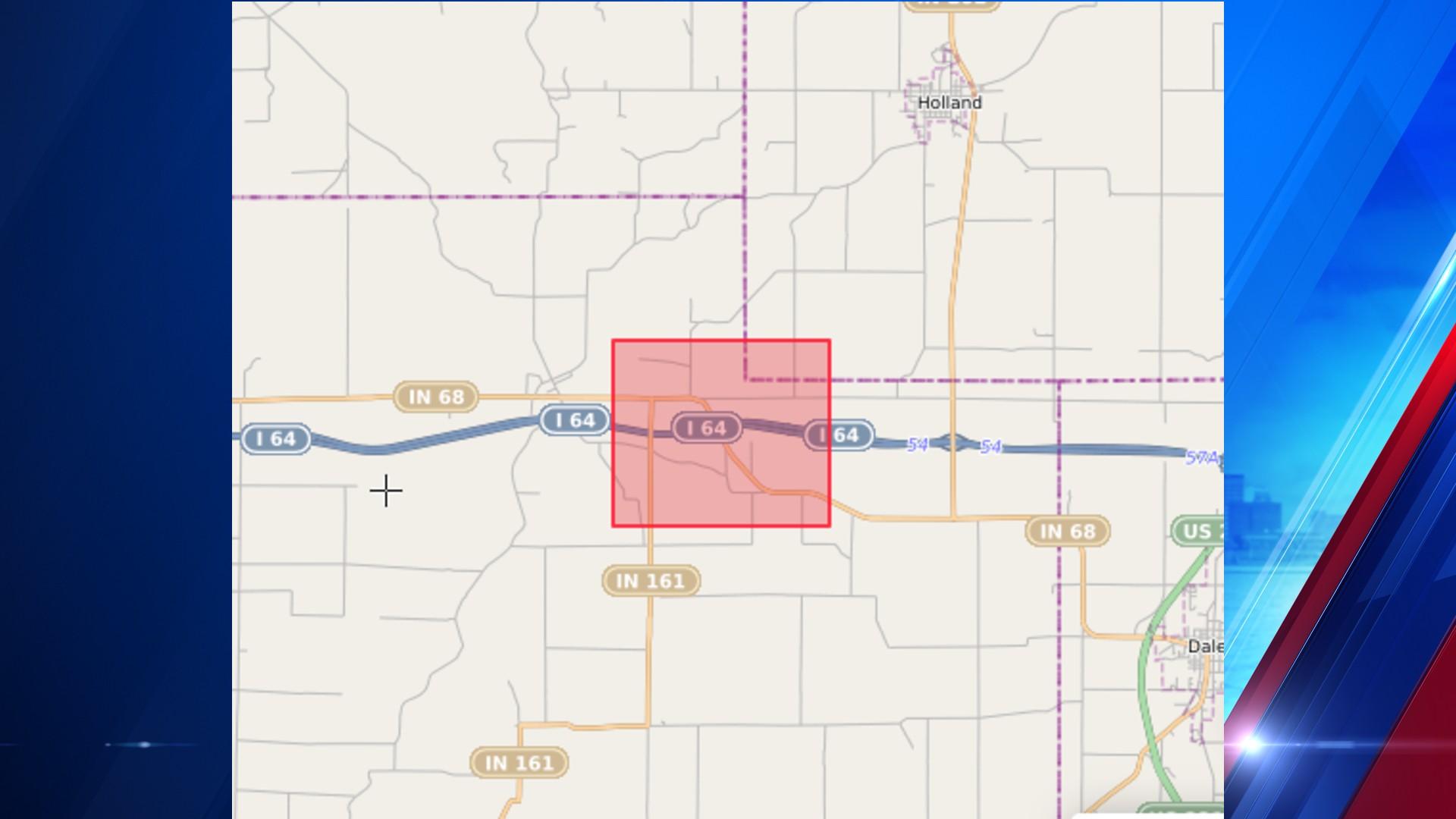 SR 63 road work near Warrick/Spencer Co line