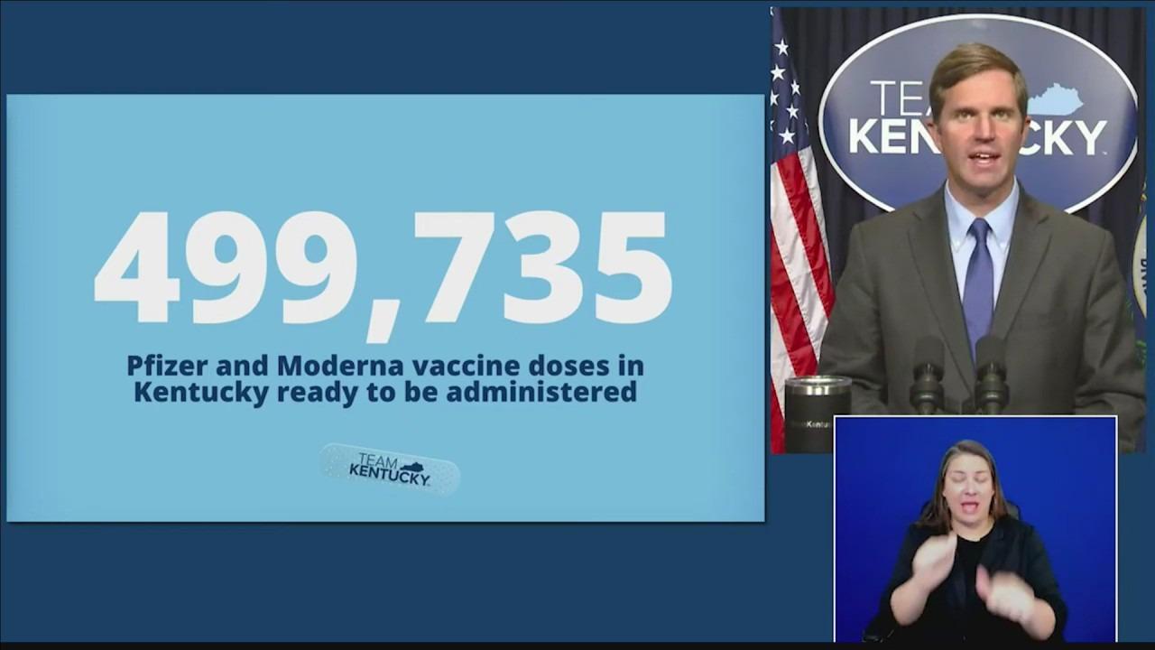 Gov. Andy Beshear COVID vaccine update
