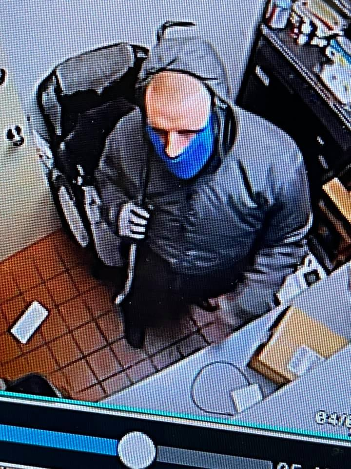Greenville Dairy Queen robbery suspect