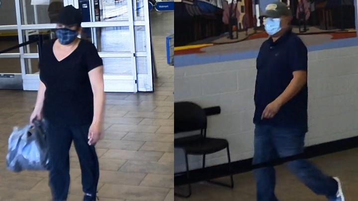Evansville Meijer theft suspects