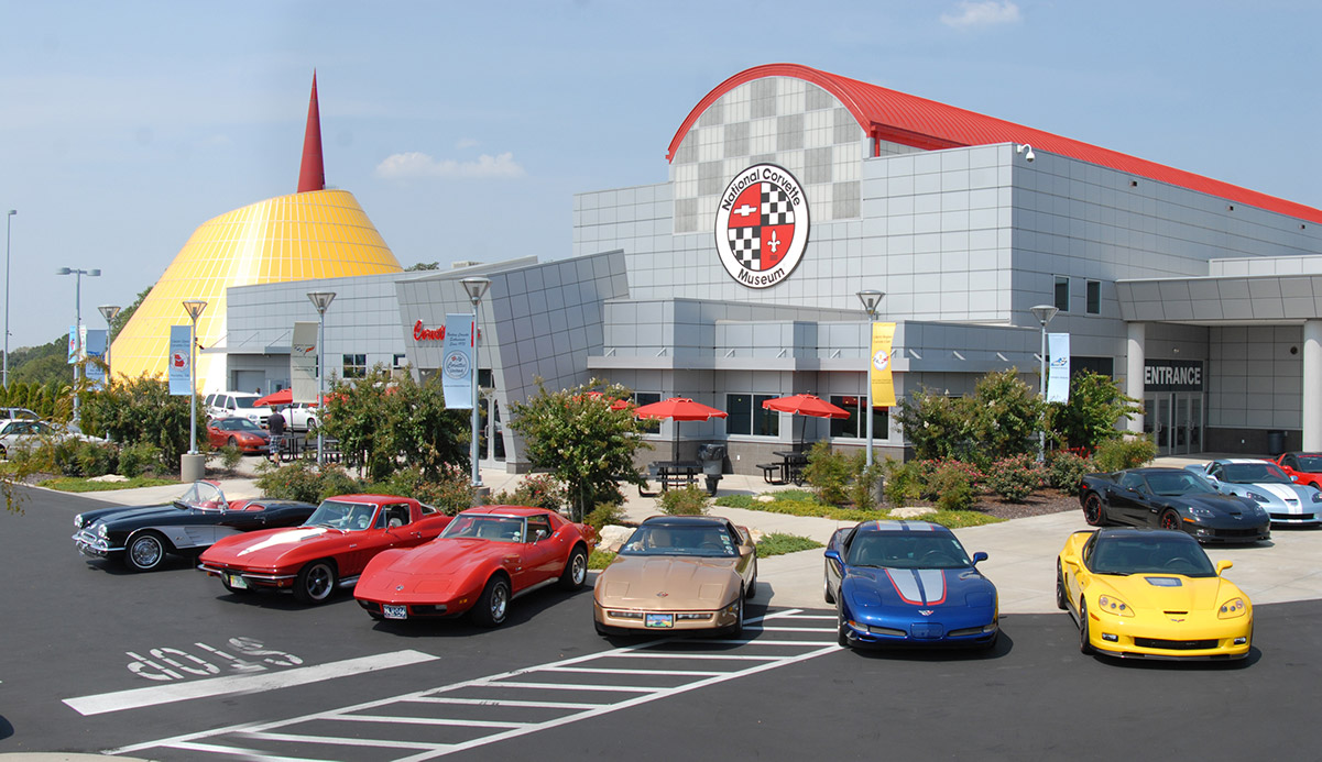 National Corvette Museum in Bowling Green, Ky