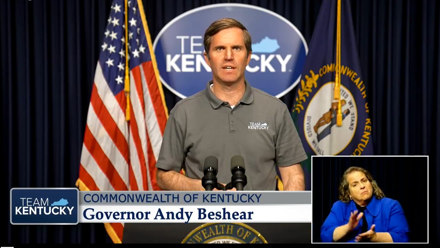 Gov. Andy Beshear