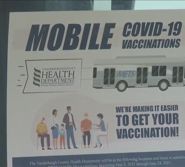 Evansville's mobile COVID vaccine clinic