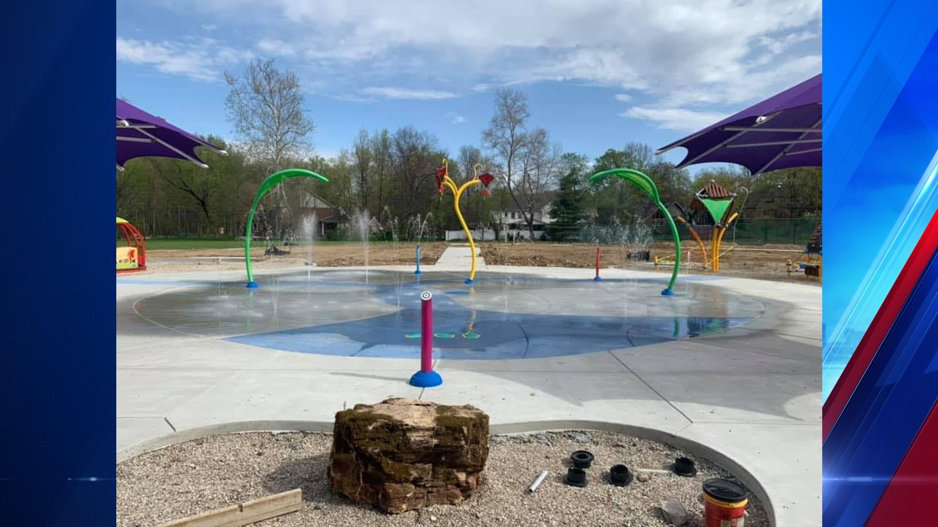 Lou Dennis Park Splash Pad