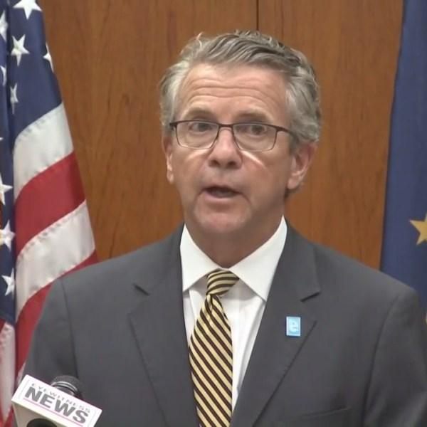 Evansville Mayor Lloyd Winnecke